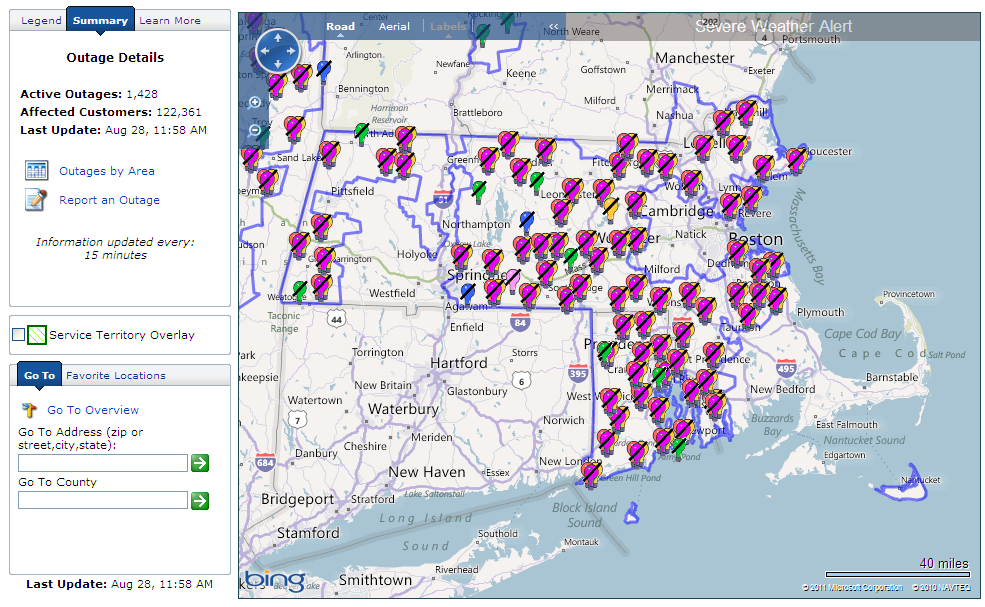National Grid Power Outage Map Massachusetts National Grid – Massachusetts