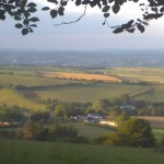 The view from Haldon Hill