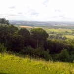 The view from Haldon Belvedere