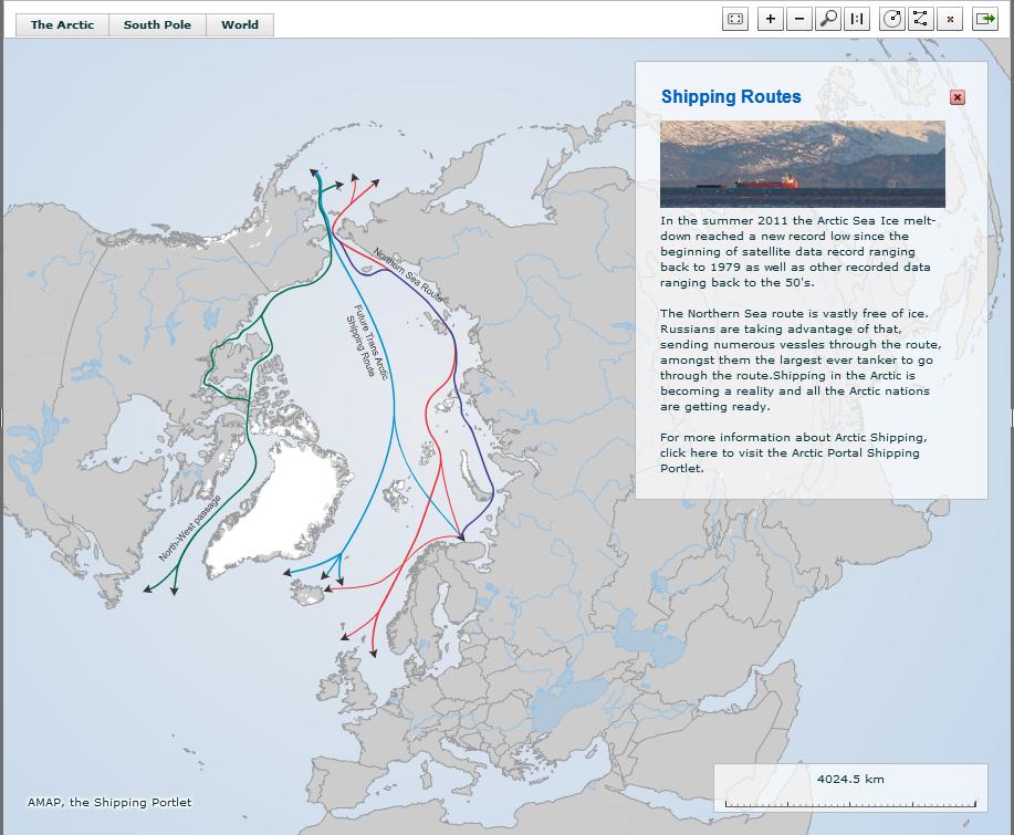 Cross-Arctic Sea Routes. Past, present and future.